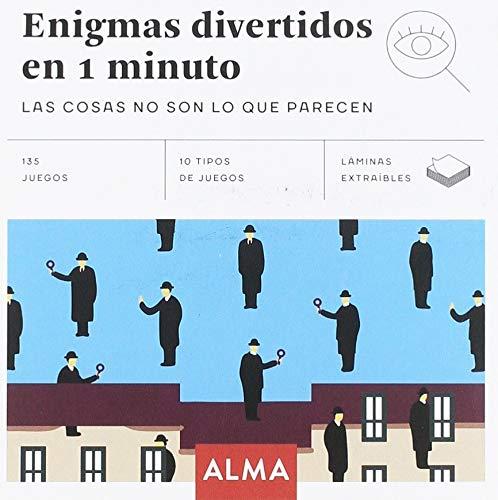 Enigmas divertidos en 1 minuto (Cuadrados de diversión) por Autores Varios