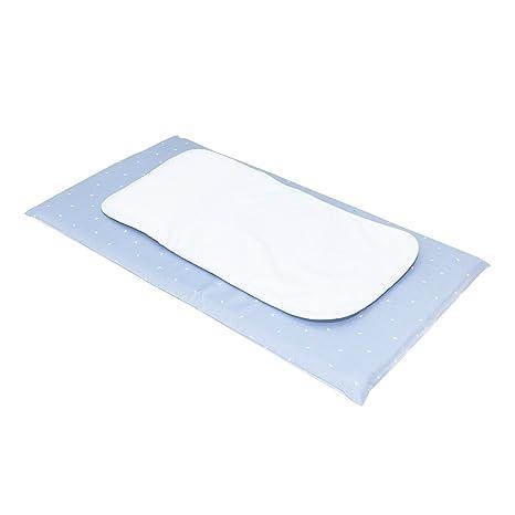Cambrass Be Origami - Cambiador bañera + cojín, 44 x 78 cm, color celeste
