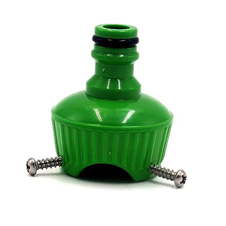 AlonSwallow Conector Universal plástico 3 Clavos Lavadora Uso ...