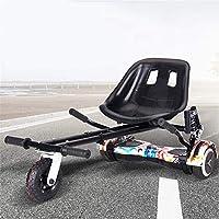 FLy Asiento Hoverboard Silla De Scooter Self Balance para Todo Terreno para Scooter De Auto Equilibrio De 2 Ruedas, Compatible con Todos Los Patinetes Eléctricos De 6.5, 8 Y 10 Pulgadas: Amazon.es: Hogar