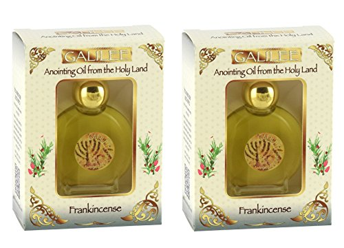 (2 Pack) Galilee Anointing Oil - Frankincense 12ml (0 4 fl oz )