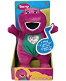 """Russ Berrie Barney Singing """"I Love You"""" Song Plush"""