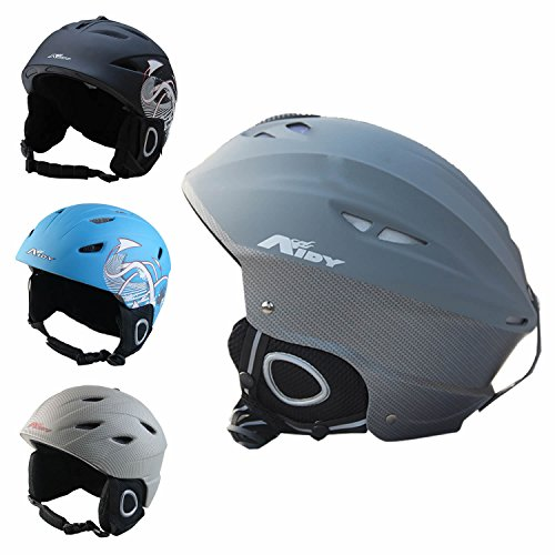 510SdCBNkJL - ZIONOR Lagopus Unisex Snow Sport, Ski, Skidding, Riding, Skateboarding Helmets with Adjustable Venting System, PC & EPS Material for Adult Men and Women