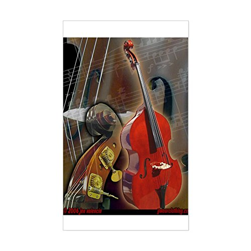 upright bass decals - 6