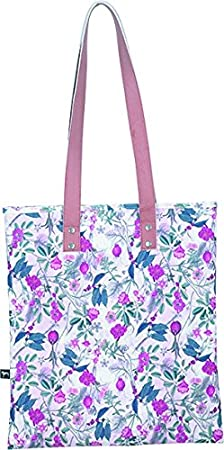 Multicolour Pink Botanical Allover The Pack Society Sport Duffel - 6101772