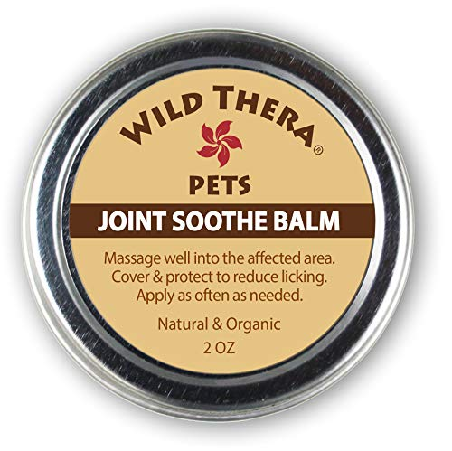 Wild Thera Pet Balms for Paw & Snout Care, Pet First Aid and Pet Joint Care. Safe for Cats & Dogs (Pet Joint Balm, 2 oz) (Best Vitamins For Aching Joints And Muscles)