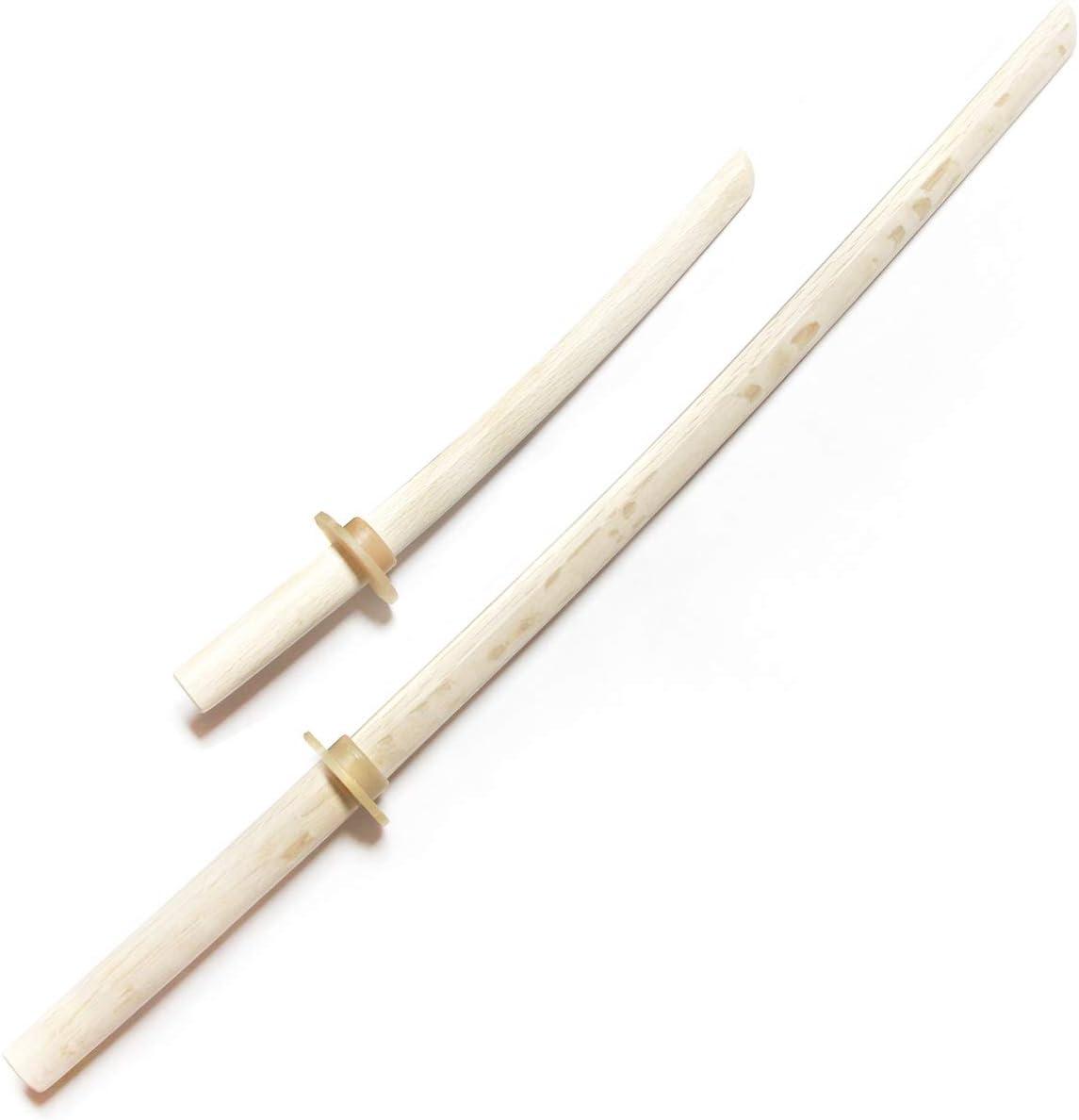 mit Tsuba massiv Miscellaneous Katana Trainings-Schwert aus Holz ausgewogen