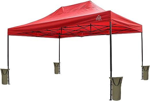 Chengsan - 4 pesas para bolsa de arena, para fiestas de jardín, exteriores, para cenador, toldo, tienda de campaña: Amazon.es: Jardín