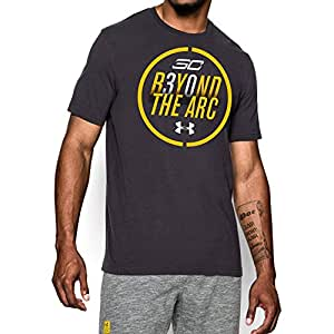 Under Armour Men's SC30 Beyond The Arc T-Shirt Extra Extra Large Carbon Heather
