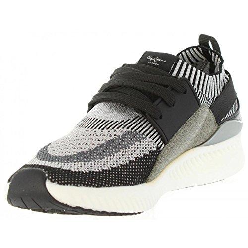 Pepe Jeans Sportschuhe für Damen PLS30548 Sutton 999 Black
