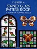 img - for Stained Glass Pattern Book: 88 Designs for Workable Projects (Dover Stained Glass Instruction) book / textbook / text book