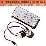 Nobsound 8-Pin Dual Bias Current Probes Tester Meter for EL34 KT88 6L6 6V6 6550 Vacuum Tube Amp Amplifier