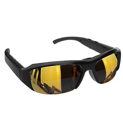 Cámara espía, más nuevas gafas de sol de la cámara espía de HD 1080P 30fps