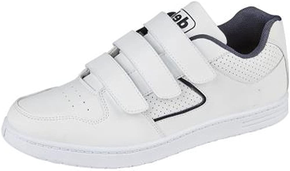 Mens Trainers Training Shoes White Size