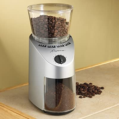 Capresso Infinity Conical Burr Grinders from Jura-Capresso
