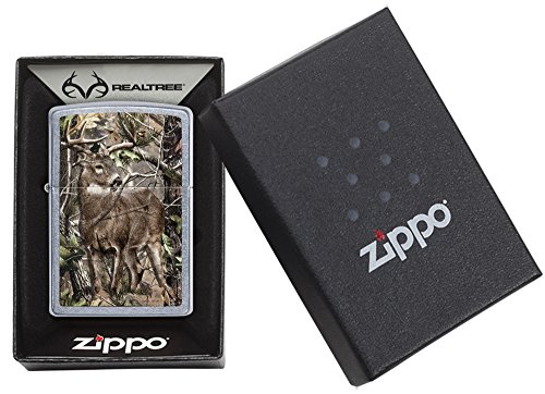 Zippo Realtree Buck Street Chrome Pocket Lighter by Zippo (Image #5)