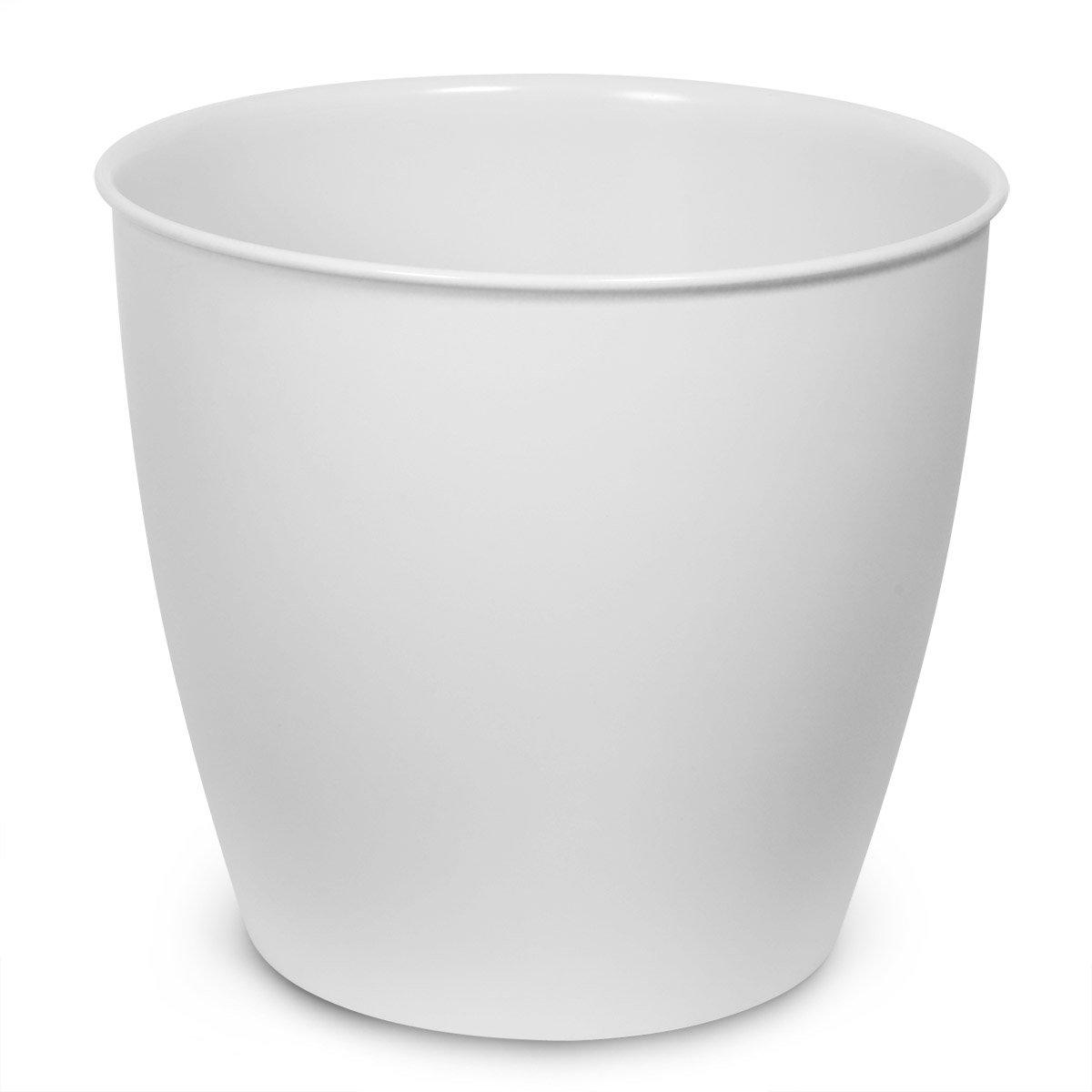 12-24 cm Pflanzkübel Kunststoff,rund Blumentopf 5 x Untersetzer  Pflanztopf