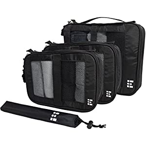 Zero Grid Packing Cube Set with Shoe Bag