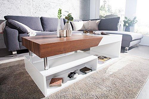 Couchtisch modernes design  Moderner Design Couchtisch HOPE Original MCA Walnuss Hochglanz ...