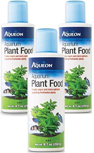 Aqueon Aquarium Plant Food, 8.7-Ounce (3 Pack) by Aqueon