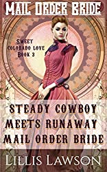 Mail Order Bride: STEADY COWBOY MEETS RUNAWAY MAIL ORDER BRIDE: (The Murphy Cowboy Brothers Looking For Love: Sweet Colorado Love, Book 3)