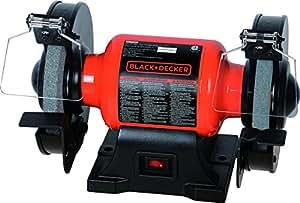 """Black+Decker BG1500BD 6"""" Single Speed Bench Grinder,"""