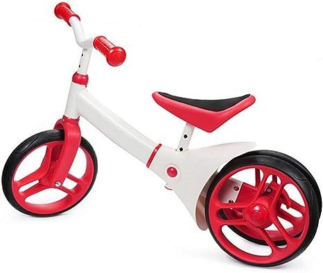 ZLMI Bicicleta de Baby Balance, Bicicleta de Tres Ruedas sin ...