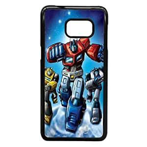 Durable Rubber Cases Samsung Galaxy S6 Edge Plus Cell Phone Case Black Sidda Transformers Protection Cover