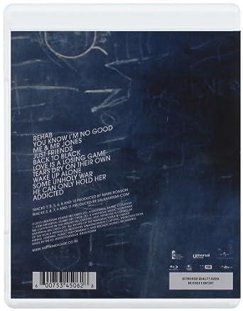 Back To Black [Blu-ray]: Amazon.es: Amy Winehouse: Cine y Series TV