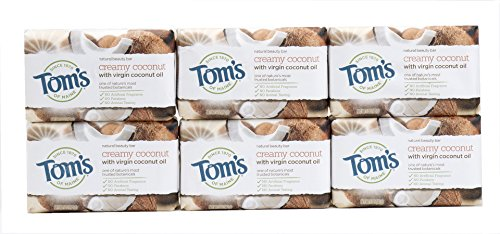 Tom's of Maine Natural Beauty Bar Soap With Virgin Oil,