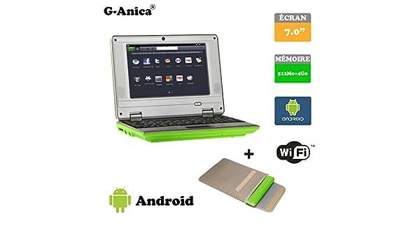 G-Anica Ordenador portátil de 7.0