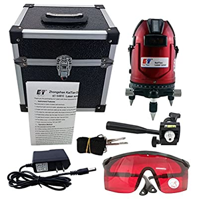 Kaitian 8 Line Laser Level Alignment Tool Level Vertical and Horizontal Rotary Laser Levels Cross Line Laser