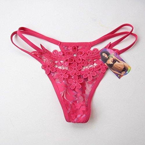 Culotte Femme La terrasse et la vie sexuelle de la femme, pantalon T transparent ultra-fins tentation extrême , Sous-vêtements féminin blanche