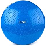 Wobble Cushion, GoFLX™ - Inflatable Balance Air Core Stability Pad Disc for Exercise [Pump Included] - with 1 Year Guarantee