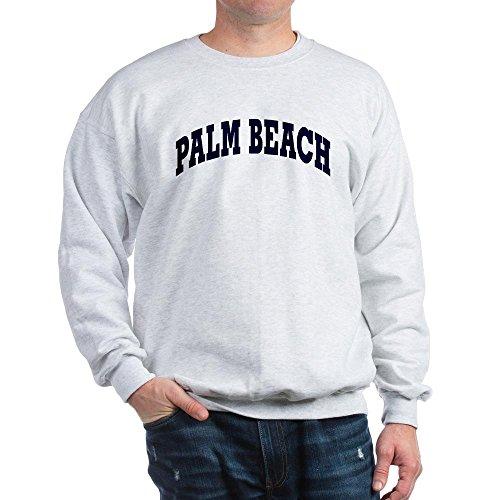 CafePress - PALM BEACH Sweatshirt - Classic Crew Neck - West Beach Palm Of Place City
