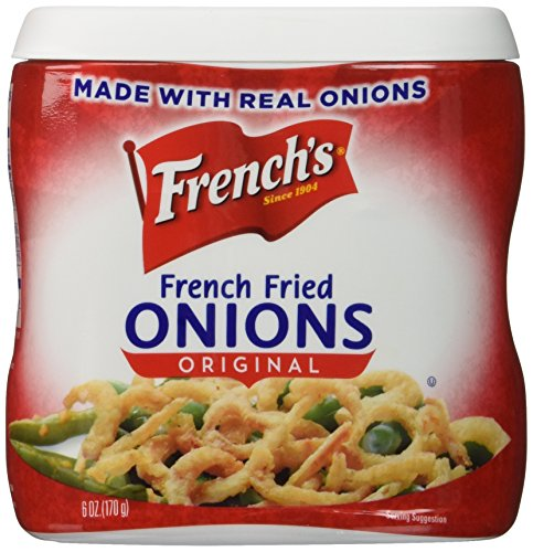 French's Original French Fried Onions 6 Oz Can (2 Pack)