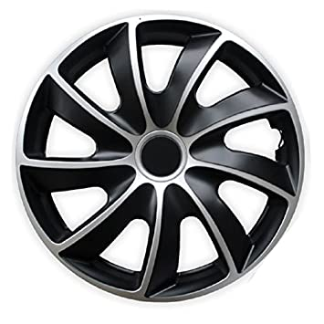 Hub Caps / Wheel Trims Black / Silver 16 Inch for Peugeot 207 SW / CC / 307 Break / 308 / 407 / 4007 / 5008 / 806 / Expert / Partner: Amazon.co.uk: Car & ...