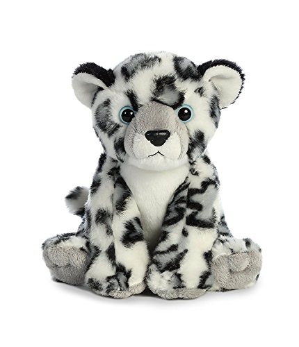 Sing 12' Plush (Stuffed Plush Snow Leopard Toy - Stuffed Plush Animal 12 Inch Nation Snow Leopard Suitable For Babies and Children - Perfect Birthday Gifts - Toy Doll for Kids and Toddlers)