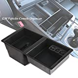 gm center console organizer - GM Center Console Insert Organizer Tray for Chevrolet Silverado 1500 2500 3500 Tahoe Suburban GMC Yukon Sierra (2014-2018) - GM Vehicles Console Armrest Glove Box - Replaces 22817343