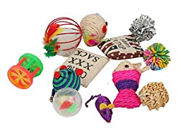 Fashion\'s Talk Cat toys Variety Pack for Kitty 20 pieces