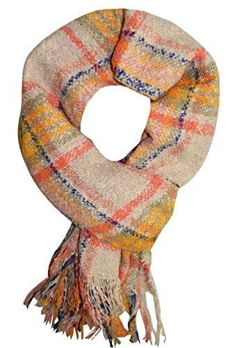 KARL LOVEN Femme - écharpe - pashmina - foulard - cache-col - Viscose  (Bordeaux)  Amazon.fr  Vêtements et accessoires 6b802ddd452