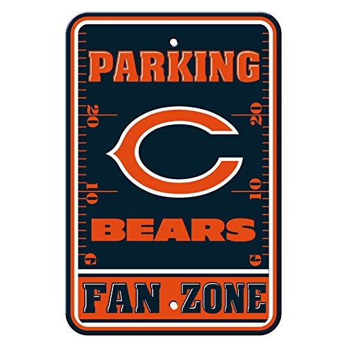 NFL Chicago Bears Plastic Parking - Great Mall Fremont