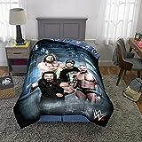 "Franco Kids Bedding Soft Comforter, Twin Size 64"" x 86"", WWE Super Stars"