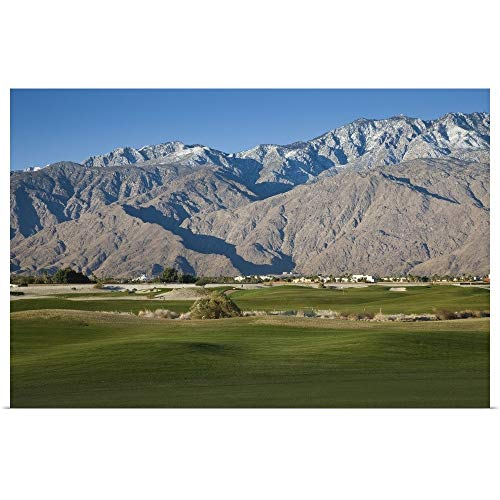 GREATBIGCANVAS Poster Print Entitled Desert Princess Country Club, Palm Springs, Riverside County, California by 18