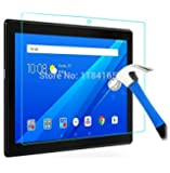 Newlike Anti Glare Scratch Proof Tempered Glass For Lenovo Tab 4 10""