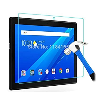 timeless design 3063c 686ae Newlike Anti Glare Scratch Proof Tempered Glass For Lenovo Tab 4 10