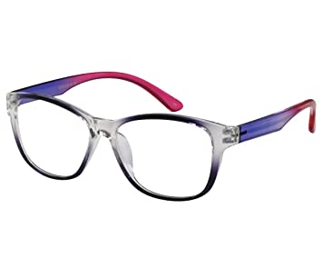 a6080808e42 Image Unavailable. Image not available for. Color  EyeBuyExpress Reading Glasses  Women Men Retro Style ...