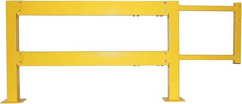 Puertas Correderas De Juego – Ancho total 3760 mm, ancho 1500 mm – Puerta corredera puertas correderas Barrera Barrera barandilla: Amazon.es: Bricolaje y herramientas