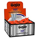 GOJO 6280-04 Fast Wipes Hand Cleaning Towels, 80 Count Counter Display (Case of 4)