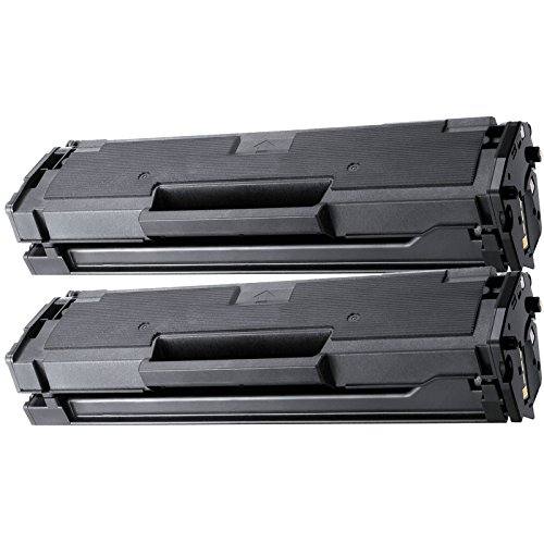 2 Inktoneram Replacement toner cartridges for Samsung D101S Toner Cartridge replacement for Samsung MLT-D101S SCX-3400 SCX-3405 SCX-3405FW SF-760P ML-2164 ML-2164W ML-2165W